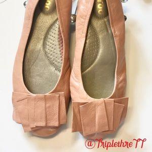 MeToo Lilyana Ballet Flat 1.5 Pink Size 9